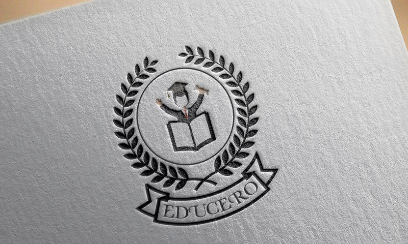 School Logo designing of Educero