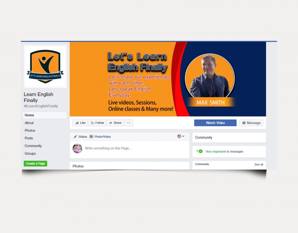 Facebook cover designed
